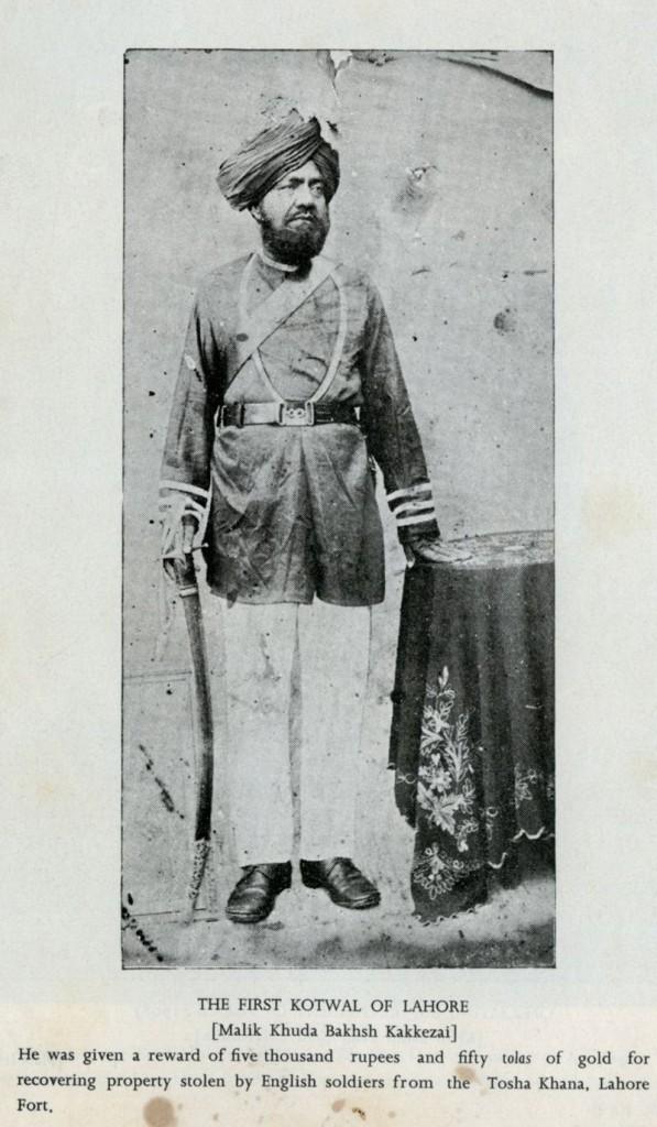 Malik Khuda Baksh Kakayzai kotwal