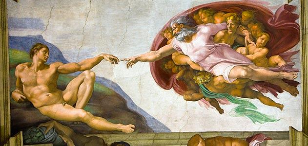 Michaelangelo's vision