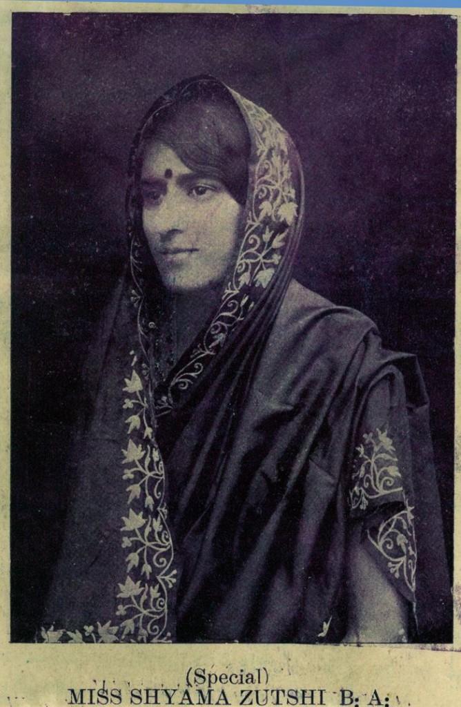 Miss Shyama Zutshki