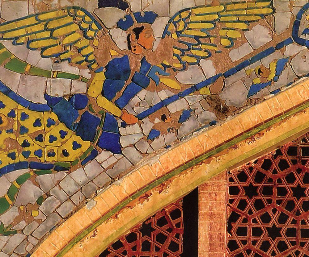 Mughal Angels fresco