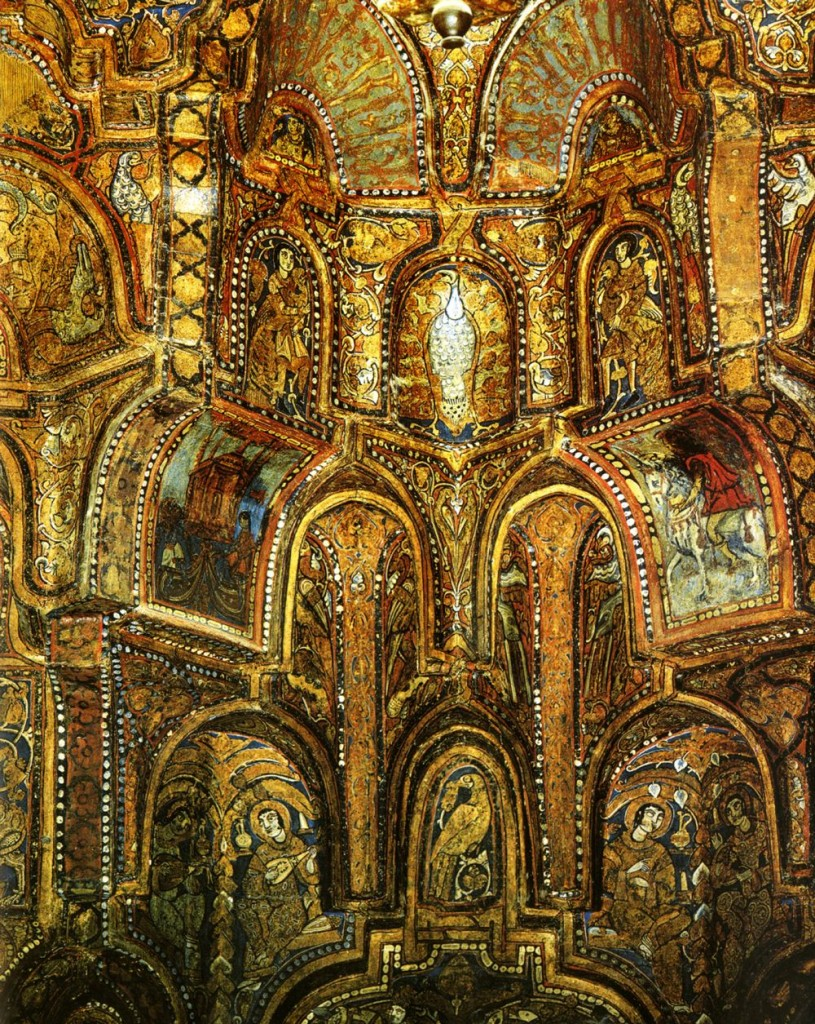 Muslim Church Capella Palatina Palermo Sicily