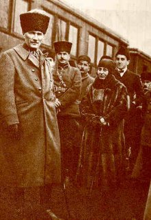 Mustafa Kamal and Halide