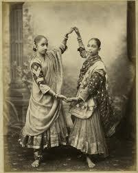 Nautch girls of those times