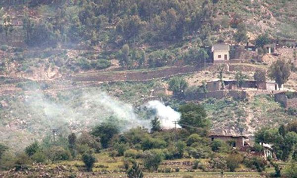 Pak army bombardment of Wazeeristan