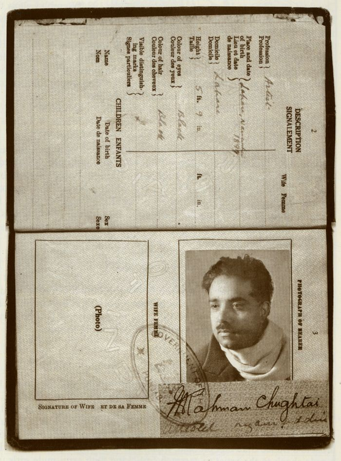 Passport 1932 Photo around 1928