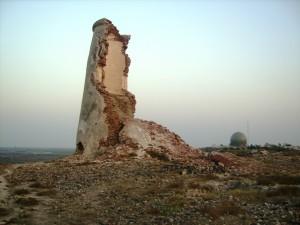Pir Pattho - Muhammad Bin Qasim Fort  tower