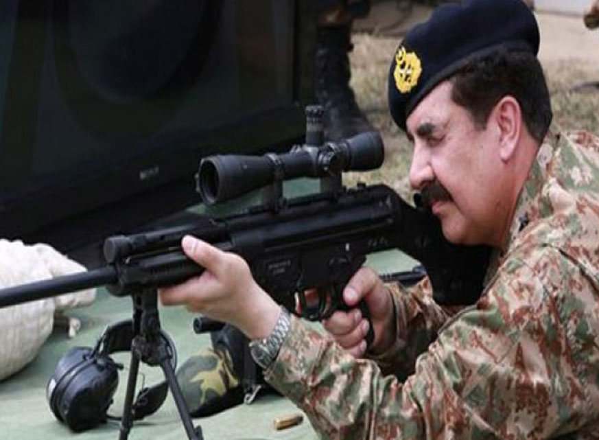 Point your guns General Sahib