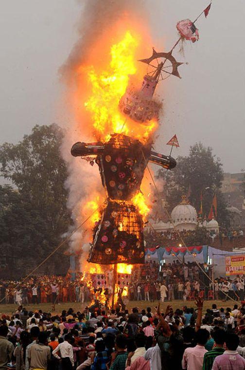Present Ravan festival