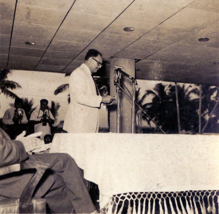 President Ayub Khans speech