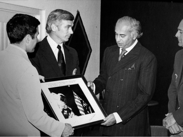President Zulfikar Ali Bhutto and NASA