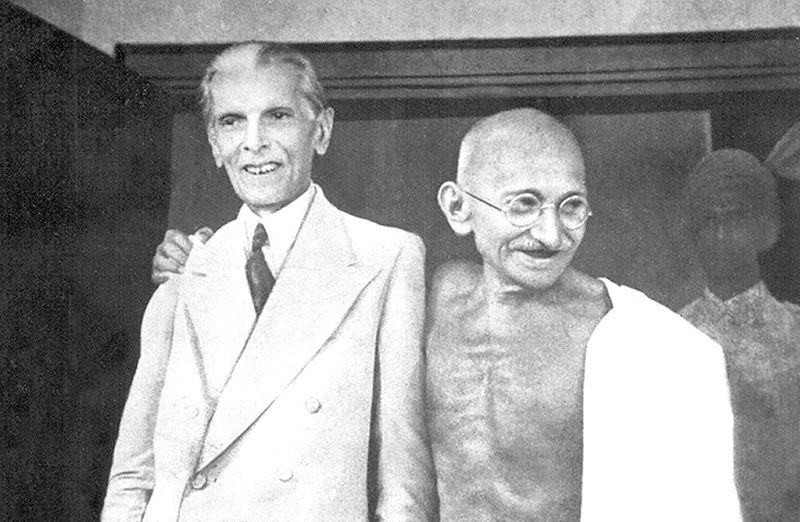Quaid e Azam and Mahatama Gandhi
