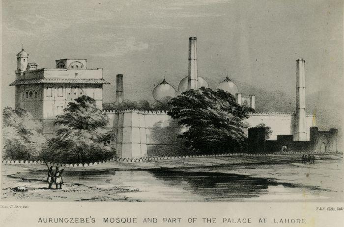 Ravi flowed sparse in 1839