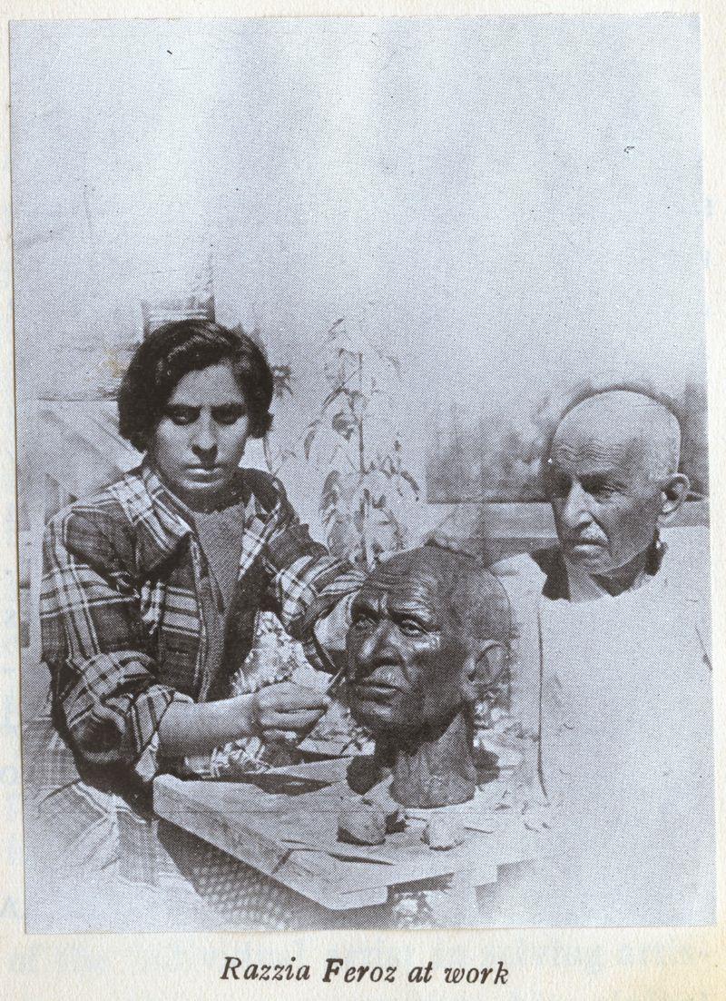 Razia Feroze the artist