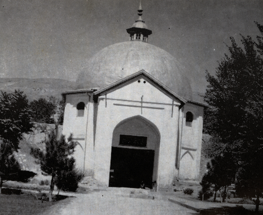 Rebuilt Mazar Mahmood Ghaznavi
