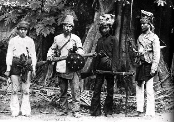 Resistance fighters of Aceh 1873