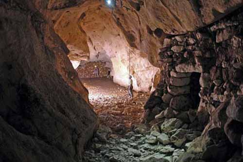 Rough caves unlike Mughals