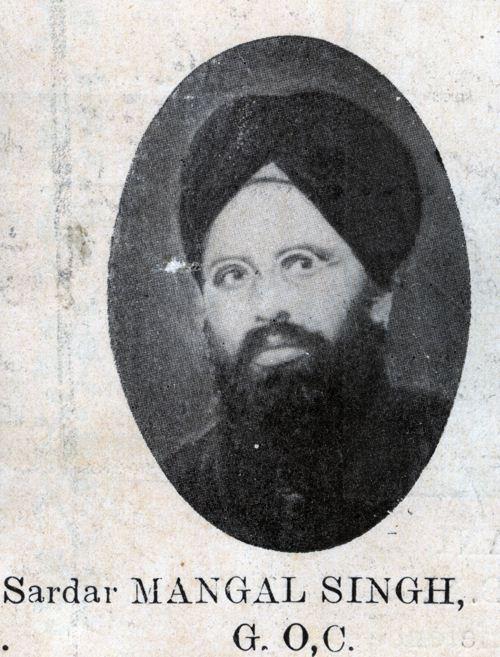 Sardar Mangal Singh G O C