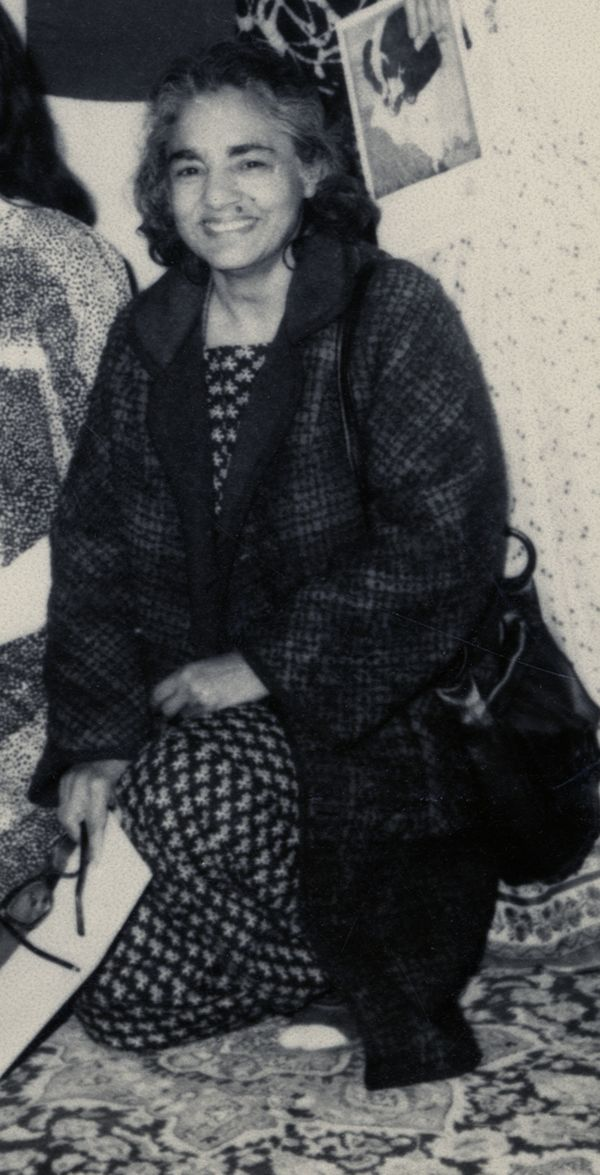 Shameem Anwar at Chughtai Museum