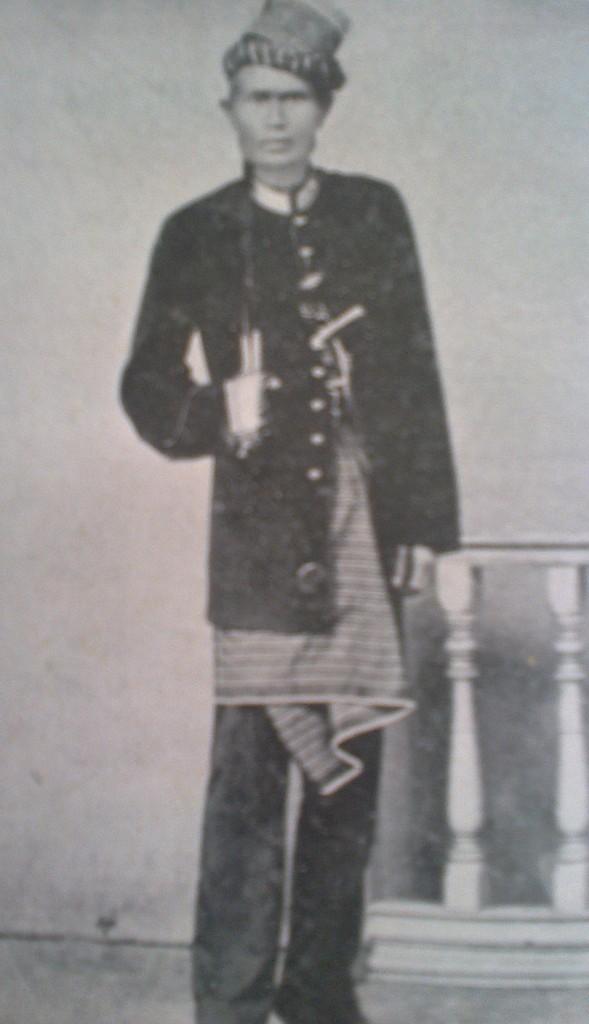 Slain leader Teku Uma 1899