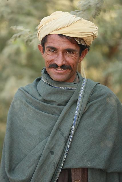 Smiling Baloch