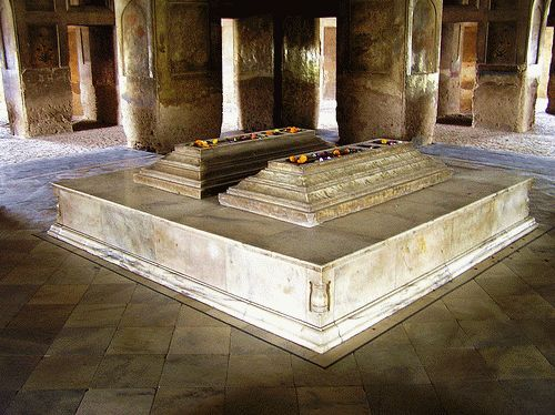 So called grave of Ladli Begum