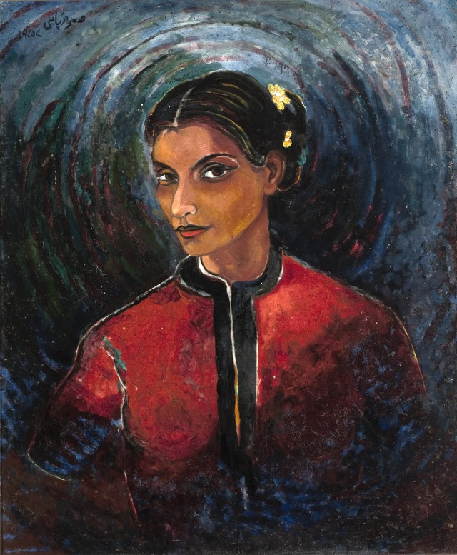 Sughra Rababi - Self Portrait