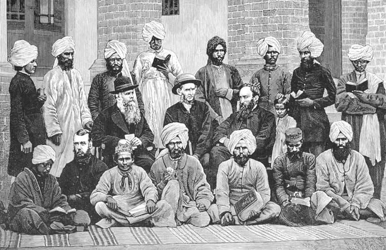 Thomas Velpy French and Conversion of Lahore