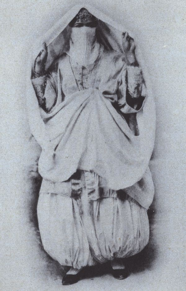 Tradition of Burqa 19th cenbtury