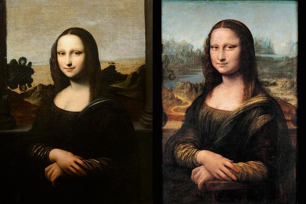 isleworth mona lisa comparison
