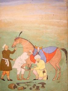 Mughal horseshoe
